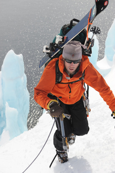 Climbing in Antarctica, by Keoki Flagg